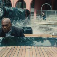 DARIUS KINCAID (Samuel L. Jackson)  in THE HITMAN'S BODYGUARD.