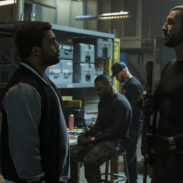 O'Shea Jackson Jr. and Pablo Schreiber star in DEN OF THIEVES