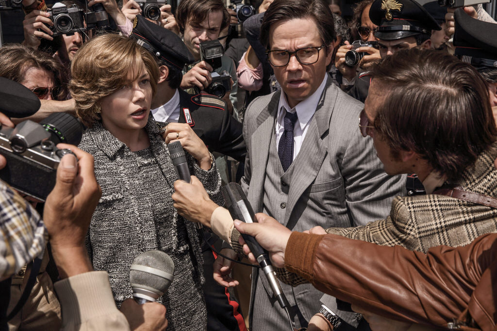 Michelle Williams and Mark Wahlberg star in TriStar Pictures'' ALL THE MONEY IN THE WORLD.