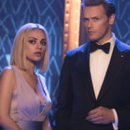 Audrey (Mila Kunis, left) and Sebastian (Sam Heughan, right) in THE SPY WHO DUMPED ME.  Photo Credit: Hopper Stone